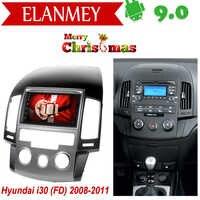 Branded Echtes Android 9.0 Auto Radio für Hyundai I30 I-30 2008-11 auto gps navigation Auto Multimedia Fahrzeug recorder Weihnachten
