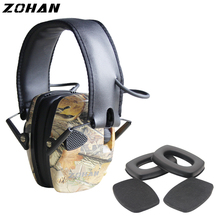 Electronic Earmuff Shooting Replacement Hearing-Protection ZOHAN Single-Microphone Tactical