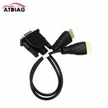 Original VGA ZU LCD led-bildschirm EDID code chip daten lesen linie 2 in 1 Kabel online Lesen und Schreiben linie RT809F RT809H TL866ii
