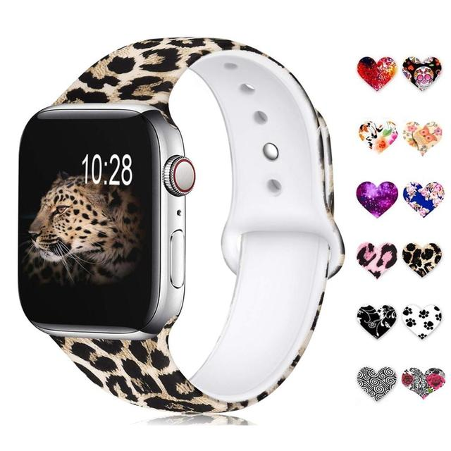 Floral Band for Apple Watch
