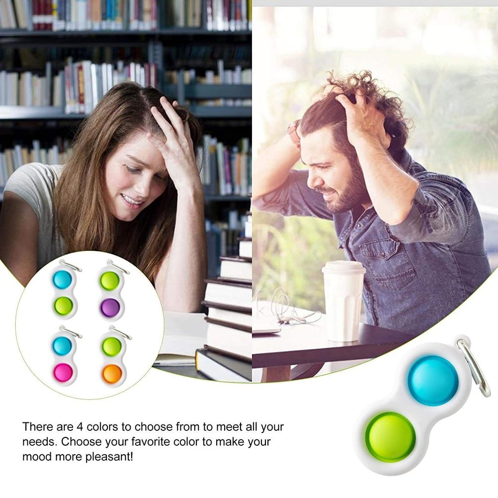Fidget Simple Dimple Toy Stress Relief Hand Fidget Toys Fat Brain Toys Educational Autism img5