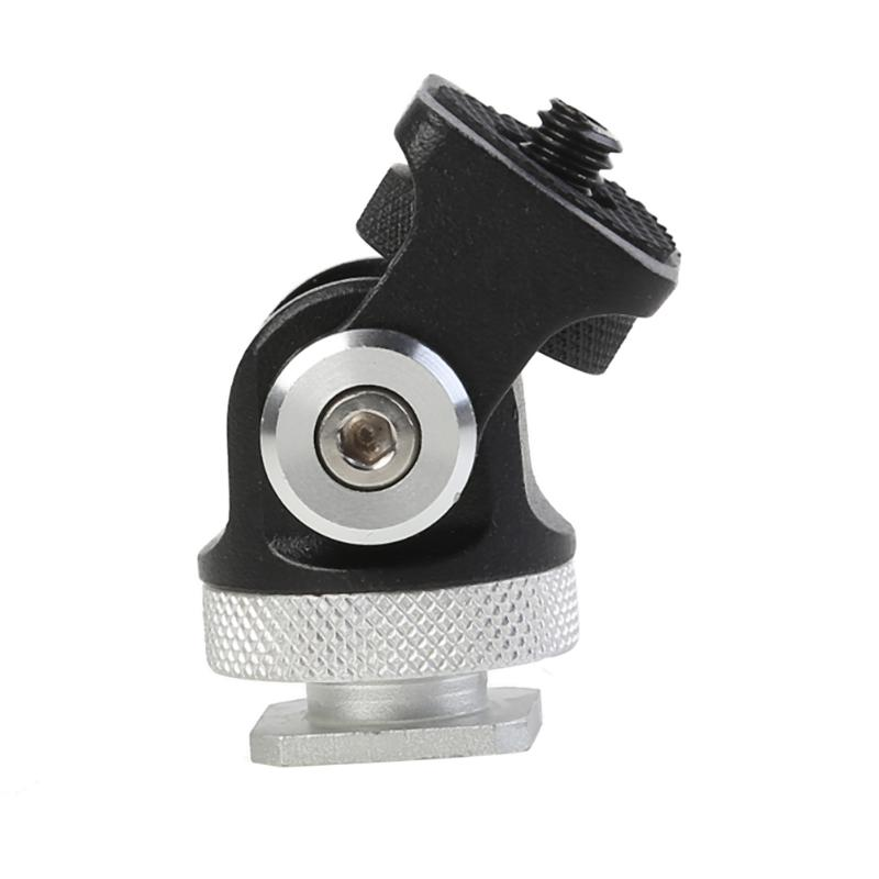 Adjustable Rotated Monitor Bracket Stand Mount Holder 180 <font><b>360</b></font> Degree Mini Hot <font><b>Shoe</b></font> Stand for Vlogger DSLR Camera Head image