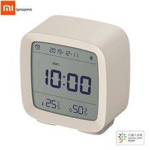 Xiaomi Qingping 3In1Bluetooth นาฬิกาปลุกดิจิตอลเครื่องวัดอุณหภูมิการตรวจสอบอุณหภูมิความชื้นกับ Mijia APP