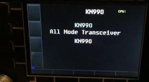 Image 5 - English Version KN 990 HF 0.1~30MHz SSB/CW/AM/FM/DIGITAL IF DSP Amateur Ham Radio Transceiver Spectrum + English Manual
