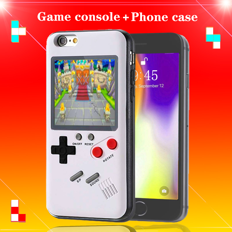 Orsda Full Color Display Retro game console Mobile Phone Case for IPhone 6 6s 7 8 plus x xs xr xs max Shockproof Case handheld