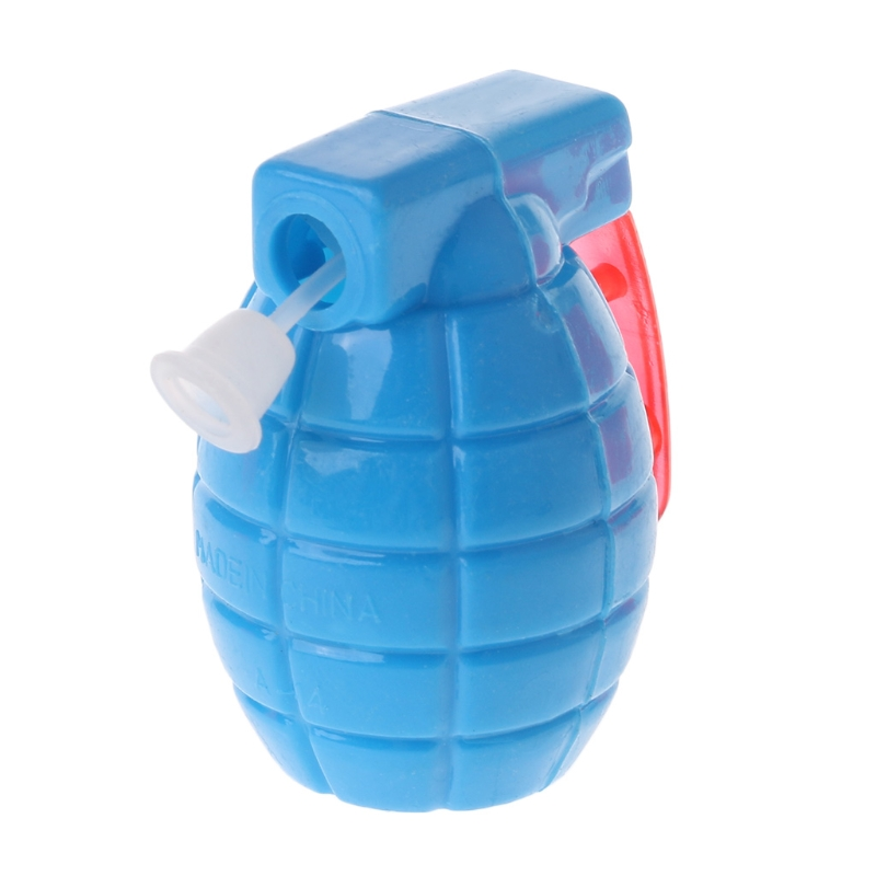 Plastic Grenades Shape Mini Water Gun Pistols For Kids Birthday Party Favors New Q6PD