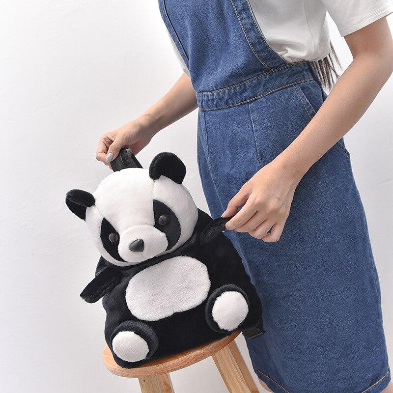 Korean Baby Bag Chinese Panda Boys And Girls Small Backpack Kindergarten School Bag Backpack Cute Animal Panda Backpack