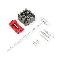 10pcs/Set Practical Watch Repair Watchband Steel Belt Tools Remover Watchmaker D
