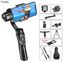 Orsda 3 Axis Handheld smart Gimbal Stabilizer for Smartphone Action camera Video Record tik Youtube tiktok tok Vlog Live