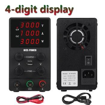 Switching Power Supply Adjustable USB DC Laboratory Light Transformer DC 110V 220V 30V 60V 120V Power Supply Source 10A 5A 3A