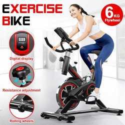 Heimtrainer mit LCD monitor Home Ultra-ruhigen Indoor Gewicht Verlust Spinning Bike Fitness Bike Dynamische Fahrrad Fitness Ausrüstung