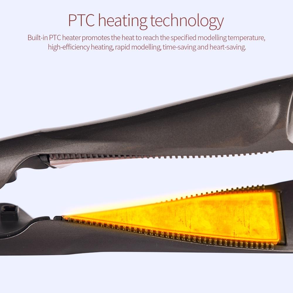 Cabelo profissional Straightener-2 em 1 ferro de