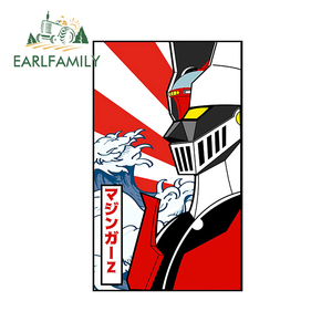 Image 1 - EARLFAMILY 13cm x 8cm For Mazinger Z Robot Car Stickers Anime Decals Creative Graphics Waterproof Scratch Proof Vinyl Car Wrap