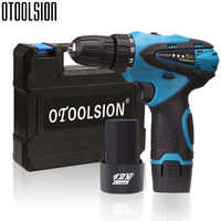 12V 18+1 Torque 1500mah Electric Screwdriver Rechargeable Drill Battery Drill Cordless Electric Tools Hand Drill For Home DIY