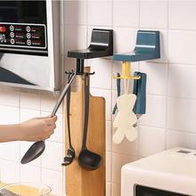 Вращающийся на кухне Крюк настенный подвесной бесплатно Пробивной