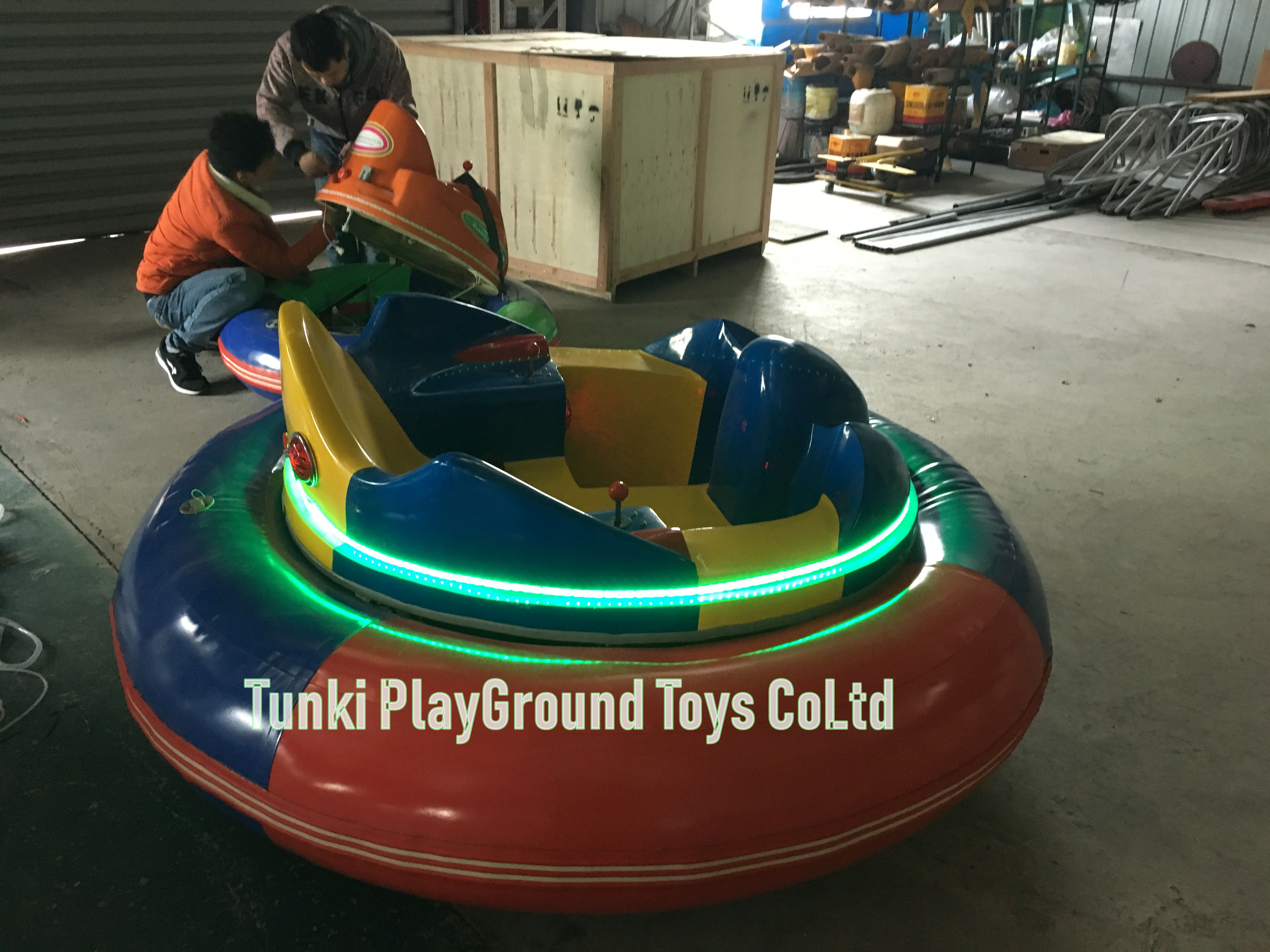New Arrival Outdoor Inflatable Ice Bumper Car For Sale