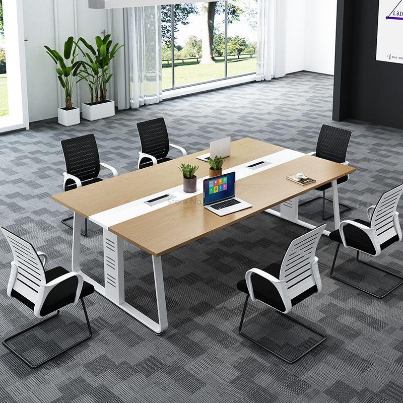Large And Small Conference Table, Long Table, Reception, Negotiation Table, Chair Combination, Long Table, Work Table, Office