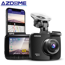 AZDOME GS63H WiFi Dual Lens integrato in GPS FHD 1080P Front VGA Rear Camera Car DVR Recorder 4K Dash Cam Dashcam WDR visione notturna