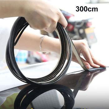 Car Sound Insulation Rubber Sealing Strip Auto Protector Sticker Windshield WaterProof Sealing Strip Interior Accessories image