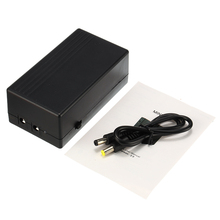 12V 2A 44.4W UPS Uninterrupted Backup Power Supply Mini Battery For Camera Route