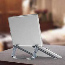 Aluminum Alloy Laptop Folding Stand Height Adjustable Notebook Support Bracket Fully Compatible 10.5-17.3 Inch Laptop(China)