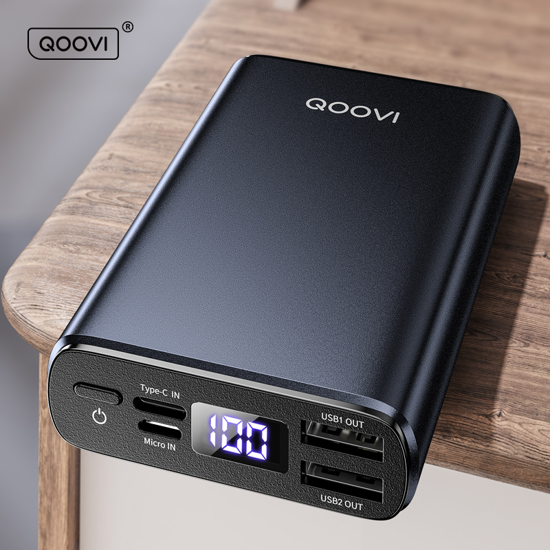 Mini Power Bank 10000Mah Usb C Draagbare Oplader Powerbank Snel Opladen Externe Batterij Voor Iphone Samsung Xiaomi Mi 10 9 1