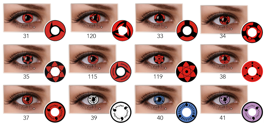 Uzumaki Sharingan Contact Lenses sureshopify