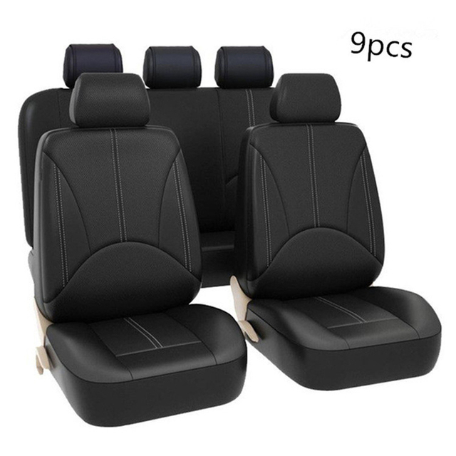 PU leather universal car seat cover for gift car seat cushion High quality waterproof car seat cover