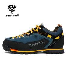 TANTU Водонепроницаемая походная обувь, обувь для альпинизма, уличные походные ботинки, треккинговые спортивные кроссовки для мужчин, для охоты, трекинга