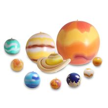 2020 New Drop Shop. 10 Pcs/Set Balloons Solar System Teaching Model Children Blow Up Inflatable Toy