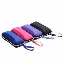 Case Eyewear Box Unisex Zipper Square