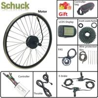 Schuck Elektrische Fahrrad Conversion kit 36V250W Motor Rad mit LCD5 Display Hinten Kassette Hub Motor Sprach und Rim Ebike|Conversion Kit|   -