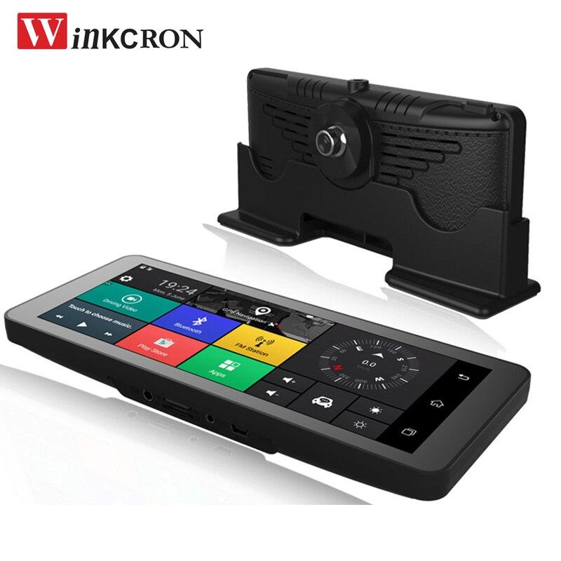 4G Auto GPS Navigation DVR Kamera 7,0
