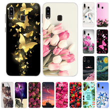 For Galaxy A30 a20 a20e Samsung Case Silicone Cove For Coque Samsung A