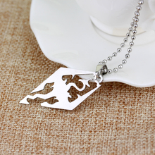 Collar con colgante de dragón Skyrim, colgantes y collares Vintage para Elder scrolls, accesorios de cadena de eslabones de joyas geniales con personalidad