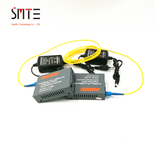 Htb-3100ab Optical Fiber Media Converter Transceiver Single Fiber Single Mode 25km SC 10/100M 3 Meters SC-SC Patch cord