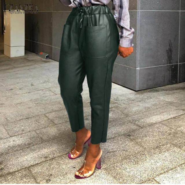 Women's PU Leather Trousers 3