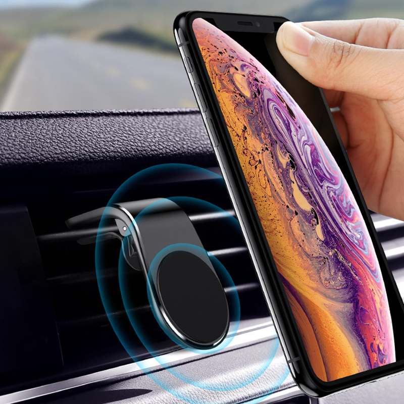 DuDa Car Phone Holder Magnetic Air Vent Magnet Universal Mobile Cellphone Mount