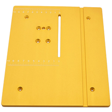 Circular Mini Table Saw Panel Circular Saw Table Pedal DIY Woodworking Machines Mat with Scale