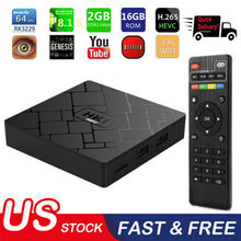 2019 New Arrival 2+16G Android 8.1.0 Quad Core RK3328 4K Smart TV BOX