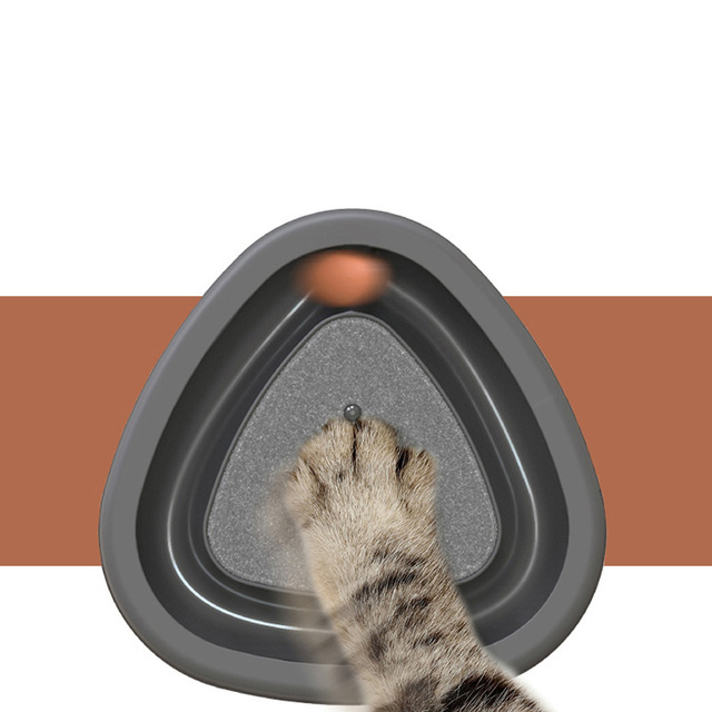 Smart Electric Automatic Kitten Toy With Fun Squeaky Ball 2