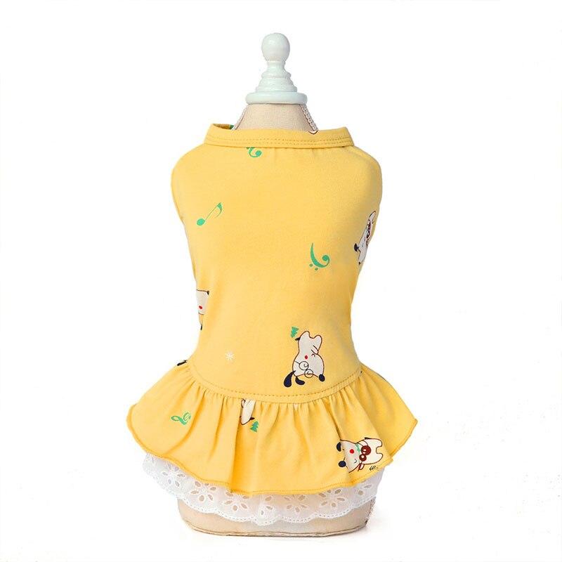 1Pc Summer Cotton Pet Dress