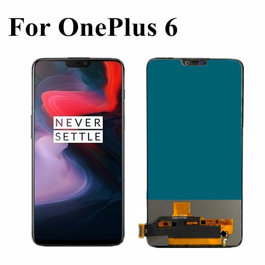 Tested Good TFT LCD For <font><b>Oneplus</b></font> 6 LCD Display Touch <font><b>Screen</b></font> Digitizer Assembly 1+6 <font><b>A6000</b></font> 6.28
