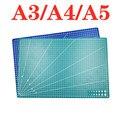 A3 A4 5 ПВХ коврик для резки верстак лоскутное шитье ручной DIY нож гравировка разделочная доска для кожи односторонняя подложка