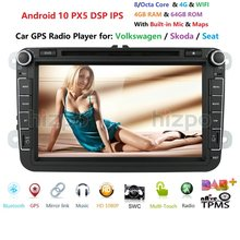 2din Autoradio Multimedia Speler Gps Voor Volkswagen Vw Golf Passat B6 Touran Polo Sedan Tiguan Jetta Android Dvd Dsp ips Monitor(China)