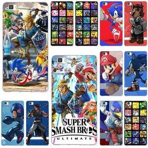 Супер Smashs Bros Ulti mate мягкие ТПУ чехлы для телефонов huawei P8 P9 P10 P20 P30 mate 10 Lite 2017 Pro Honor 7 7A 7X9 10 Coque сумки