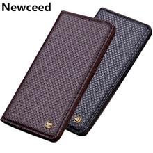 Genuine Leather Flip Cover Case For Meizu 16th Plus/Meizu Magnetic Phone Funda With Kickstand Bag