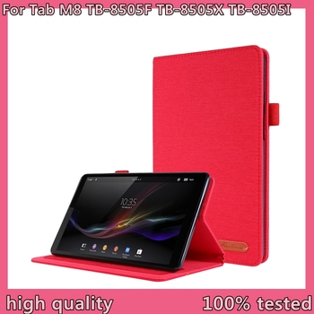 цена на New Case For  Lenovo Tab M8 case PU Leather Folding Stand Cover For Lenovo Tab M8 TB-8505F TB-8505X TB-8505I 8.0 inch Tablet