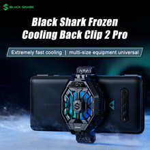 Novo original preto tubarão cooler com display de temperatura para tubarão preto 4 3 2 pro funcooler pro 2 para iphone 12 redmi k40 pro