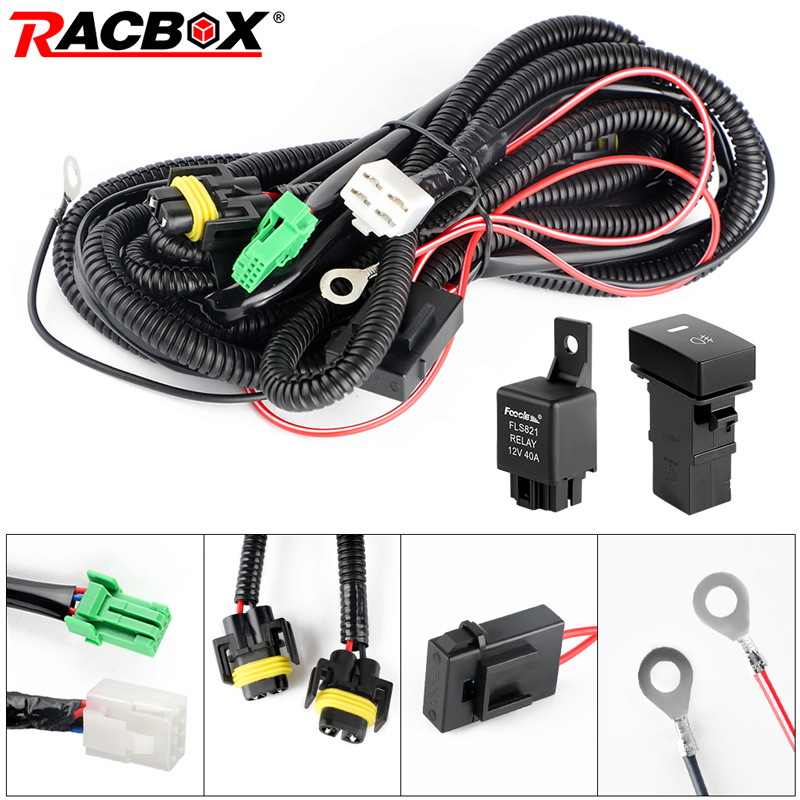 [SCHEMATICS_48IS]  H11 Fog Light Headlight Wire Harness Sockets Kit Relay Module Box Wiring  Adapters Wires Connector Switch For Toyota|Wire| - AliExpress | Wire Harness Box |  | www.aliexpress.com